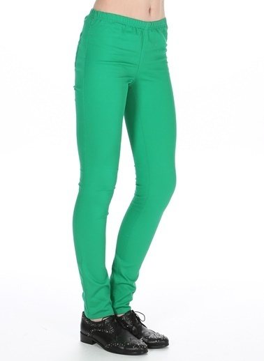Vero Moda Pantolon Yeşil